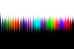 Abstrakte Welle klingt Hintergrund lizenzfreie abbildung