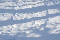 Abstrakte Winterlandschaft Stockfotos