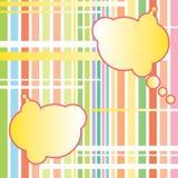 Abstrakte Wolken. Vektorhintergrund. Lizenzfreie Stockfotografie