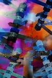 Abstrakte Zeichen Lizenzfreies Stockbild
