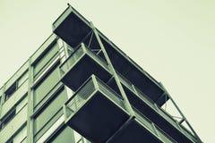 Abstrakte zeitgenössische Architektur Stockfotografie