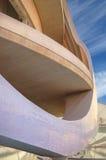 Abstrakte zeitgenössische Betonkonstruktionen Stockfoto