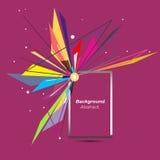 Abstrakte Zusammensetzung Minimalistic-Mode-Hintergrunddesign Explosionsikone Markenlogo Rote Gussbeschaffenheit Burgunders Stockfotografie