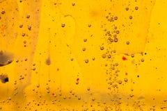 Abstrakte Zusammensetzung mit Mischung des Öls, des Wassers und der bunten Tinte Lizenzfreie Stockfotografie