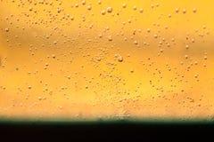 Abstrakte Zusammensetzung mit Mischung des Öls, des Wassers und der bunten Tinte Stockbild