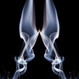 Abstrakte Zusammensetzung mit Rauche Lizenzfreie Stockfotografie