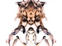 Abstrakte Zusammensetzung mit Rauchformen Stockfoto