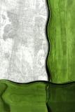 Abstrakte Zusammensetzung von den Glasflaschen Makro Stockbild
