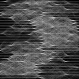 Abstrakte Zusammensetzung von Wellen, Signale Hintergrundillustration für technologischen Entwurf lizenzfreie abbildung