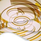 Abstrakte Zusammensetzungsillustration Lizenzfreies Stockbild