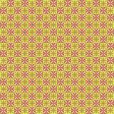 Abstrakter ägyptischer geometrischer Dekor des Vektors stock abbildung