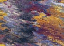 Abstrakter Ölgemäldehintergrund stockfotografie