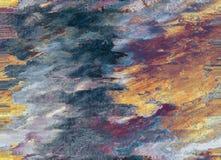 Abstrakter Ölgemäldehintergrund stockfotos