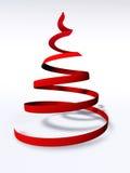 Abstrakter 3d Weihnachtsbaum Stockbild