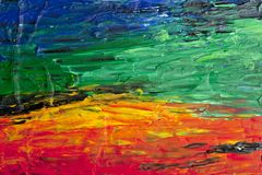 Abstrakter acryl Malerei-Kunsthintergrund lizenzfreies stockfoto