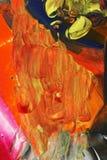 Abstrakter Acrylanstrich Lizenzfreies Stockbild