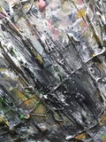 Abstrakter Acrylanstrich Stockfotos
