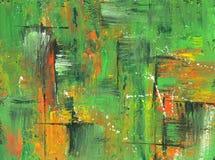 Abstrakter Acrylhintergrund in den hellen Farben vektor abbildung