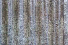 Abstrakter alter Polycarbonatsdachhintergrund Stockfotografie