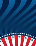 Abstrakter amerikanischer Hintergrund lizenzfreie stockfotografie