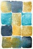 Abstrakter Anstrich 08 des Aquarells Stockfotos