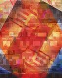 Abstrakter Anstrich stock abbildung