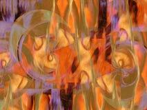 Abstrakter Anstrich Stockbild