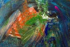 Abstrakter Anstrich-Hintergrund Stockfotografie