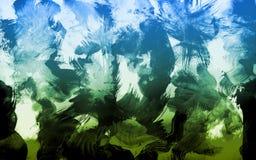Abstrakter Aquarell-Hintergrund Stockfotografie