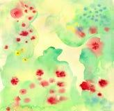 Abstrakter Aquarell-Hintergrund Stockbild