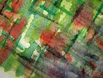 Abstrakter Aquarell-Hintergrund 6 Stockfotografie