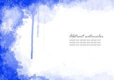 Abstrakter Aquarellhintergrund Lizenzfreie Stockfotos