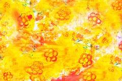 Abstrakter Aquarellhintergrund stockfotografie