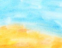 Abstrakter Aquarellhintergrund. lizenzfreies stockbild