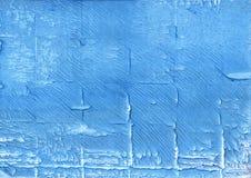 Abstrakter Aquarellhintergrund der Blue Jeans Stockbild