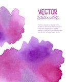 Abstrakter Aquarellhintergrund für Ihr Design lizenzfreie abbildung
