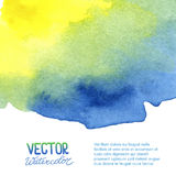 Abstrakter Aquarellhintergrund für Ihr Design Stockbild