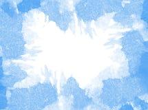 Abstrakter Aquarellhintergrund Gekrümmte (Papier) Beschaffenheit Lizenzfreie Stockbilder