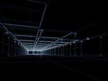 Abstrakter Architekturaufbau Lizenzfreies Stockfoto