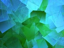 Abstrakter azurblauer Hintergrund Stockbild