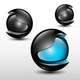 Abstrakter Ball Lizenzfreie Stockbilder