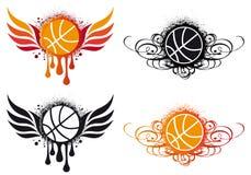 Abstrakter Basketball,   Stockfotos