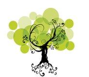 Abstrakter Baum Stockfotografie