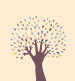 Abstrakter Baum Stockbilder