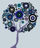 Abstrakter Baum vektor abbildung