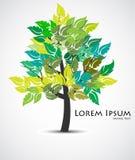 Abstrakter Baum. Stockfotografie