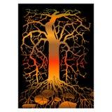 Abstrakter Baum Stockbild