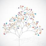 Abstrakter Baum Umweltbilder in meinem Portefeuille vektor abbildung