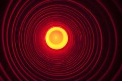 Abstrakter Begriffshintergrund mit futuristischem High-Techem Wormholetunnel lizenzfreies stockbild