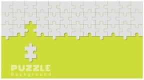 Abstrakter Begriffshintergrund mit unvollständigem Puzzlen Lizenzfreie Stockfotografie